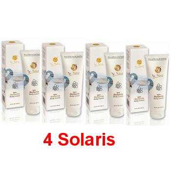 Solaris Body Lotion אריזת חיסכון 4 Solaris
